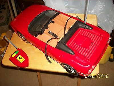 2000 Barbie Ferrari with Remote Working