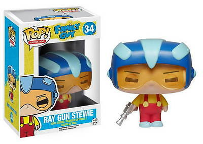FAMILY GUY POP Vinyl Figur STEWIE RAY GUN 10cm NEU+OVP