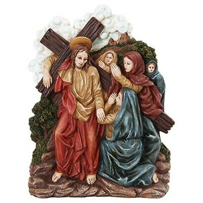 Stations of The Cross Eight Station Women of Jerusalem Weep For Jesus Statue