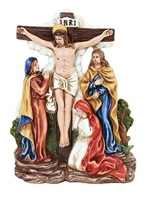 9.25 Inch Stations of The Cross Christ with The Women Statue Figurine