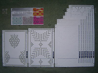 § BROTHER PUNCHCARDS Vol.8 FAIR ISLE PATTERNS - Machine Knitting Punch Cards