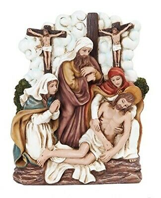9.25 Inch Stations of The Cross Dying Christ Statue Figurine