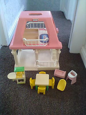 Little Tikes Grandparents Dolls House with Furniture - Leeds Will Post