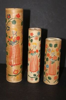 Vintage Shulton Old Spice Early American Talcum Powder Lot of 3