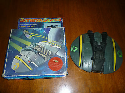 Vintage Mattel Battlestar Galactica Cylon Raider in Original Box 1978