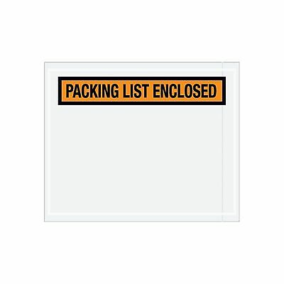 1000 Packing List Enclosed Panel Face Envelopes 7.5x5.5 Shipping Envelope Pouch