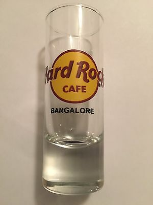 Hard Rock Cafe Bangalore India Shot Glass (No Bengaluru Name) - Rare