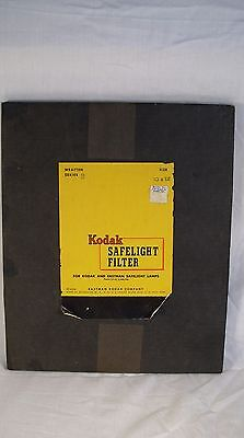 Kodak -- Safelight Filter -- 10x12 Inch -- Series 3 -- Wratten -- NEW