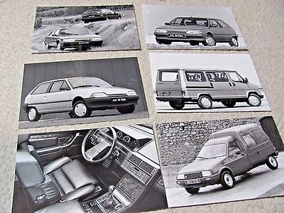 1990 Citroen Original Press Photos (6)