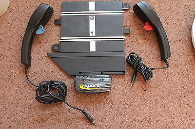 Scalextric Sport Powerbase With Border + 2 Controllers Excellent Condition