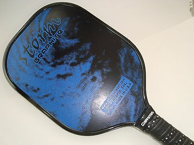 New Onix Storm Graphite Pickleball Paddle Gel Grip Core Light Strong  Blue