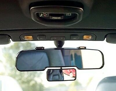 Wide Angle Rear View Car Mirror - Reduces Blind Spots To Improve Safety - New