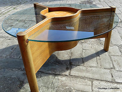 Vintage Retro 50's / 60's Nathan Teak and Glass Coffee Table