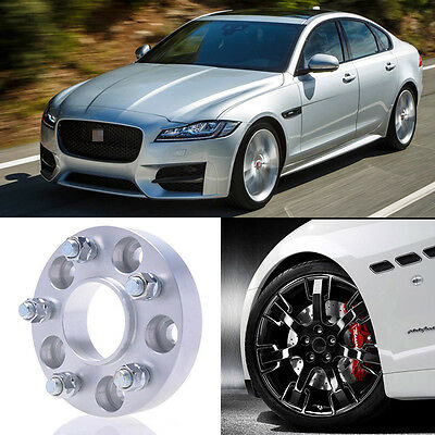 2pcs 25mm Thick Pcd 5x108 634cb Aluminum Wheel Spacers Adapters For