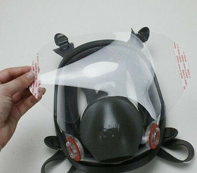 5pcs 6885 Protective RESPIRATOR LENS COVER USE For 3M6800 Full face Gas Mask