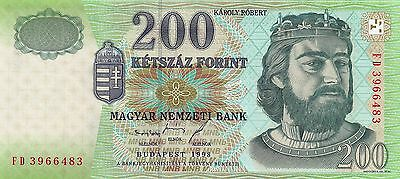 Hungary 1998 200 Forint P-178a UNC