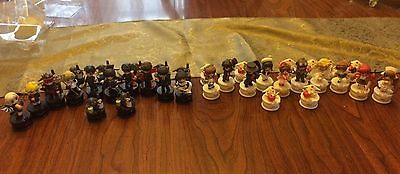 CLAMP Chess Set - All 36 Pieces - No Book