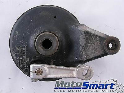 1981 Suzuki RM250 Rear Wheel Brake Hub Backing Plate Shoes TSK-101FE Fair 126659