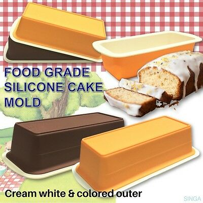 Silicone Bread Loaf Mold Cake Non Stick Bakeware Baking Pan Oven Soap Mould DIY