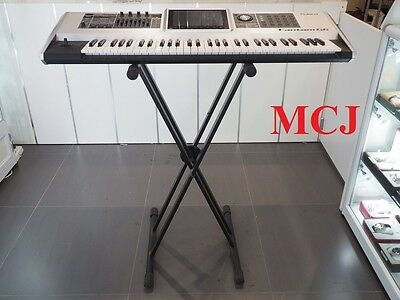 Roland Fantom-G6 Workstation Keyboard Synthesizer with Stand & Power Cable