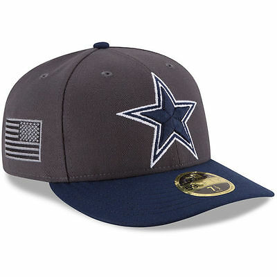 Dallas Cowboys New Era NFL Crafted In America Low Profile 59FIFTY Fitted Hat