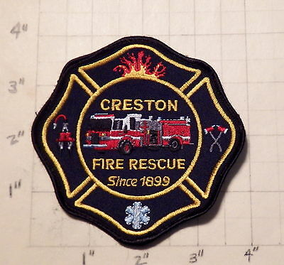Creston (BC,Canada) Fire/Rescue Department Patch  -  Since 1899