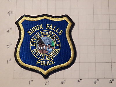 Sioux Falls (SD) Police Department Patch               ***NEW***