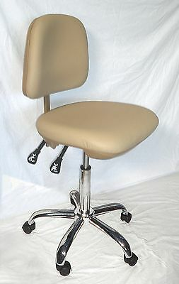 Medical Office Dental Doctor's Stool/chair / Tan
