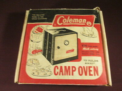 Vintage Coleman Folding Camp Oven Great Condtition!