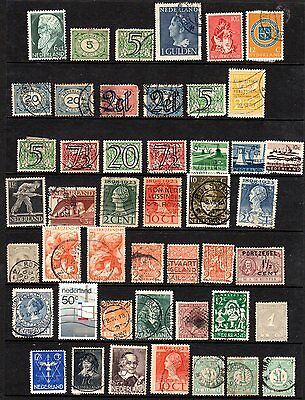 Netherlands Page of Assorted