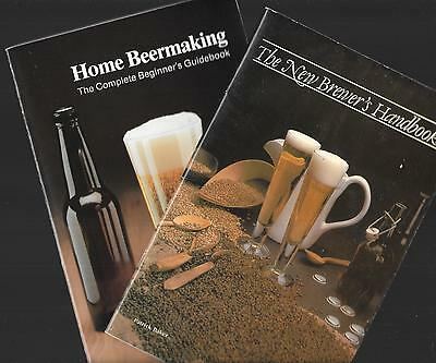2 BEER MAKING Handbooks: Home by Wm. Moore & New Brewers by Patrick Brewer