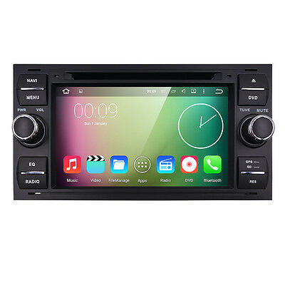 Android5.1 Car DVD GPS DVR 3G For FORD C/S-MAX KUGA FIESTA FUSION TRANSIT US