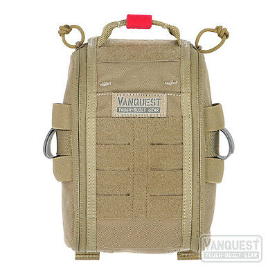Vanquest FATPack 5x8 Gen 2 First Aid Trauma Pack Organiser Coyote Tan