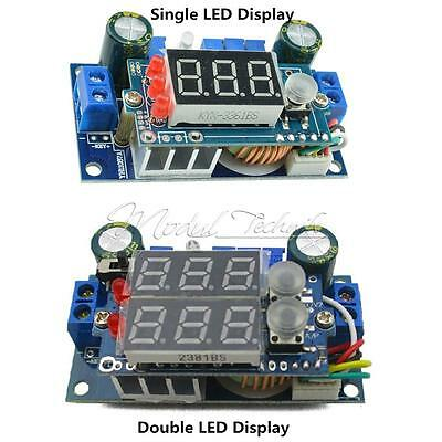 MPPT Solar Panel Controller 5A DC-DC Step-down CC/CV Charging Module LED Display