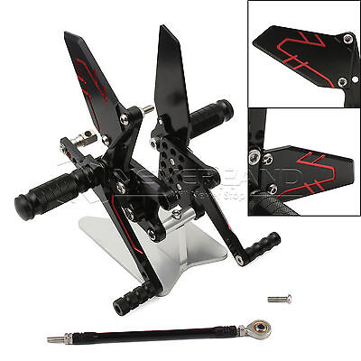 CNC Rearset Foot Pegs Rest Replacement for Suzuki GSXR600/750/1000 00-04 SV650/S