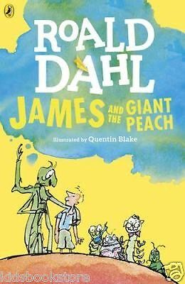 Roald Dahl Story Book: JAMES AND THE GIANT PEACH - 2016 Artwork - NEW