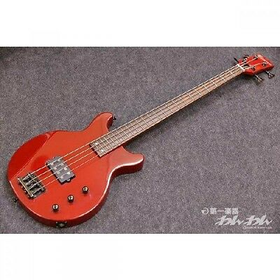 EDWARDS E-J-78 Red w/soft case Bass guitar From JAPAN Free shipping #H111