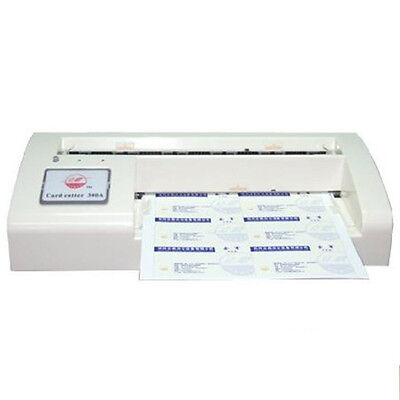 Automatic Business Card Cutter Name Card Slitter Cutter A4 Size For Home Office