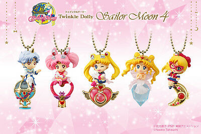 Preorder Sailor Moon Twinkle Dolly 4  Figure Set of 5