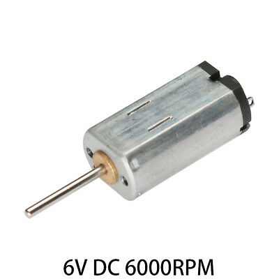 6V DC 6000RPM High-power Torque Magnetic Mini Electric Motor f Electrical Tools