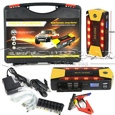 Universal 82800mAh Car Jump Starter Booster Battery Charger with 4USB Power Bank