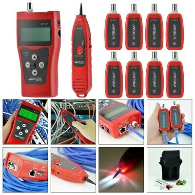 AU Multipurpose Network LAN Phone Cable Tester with 8 Far-End Test Jacks