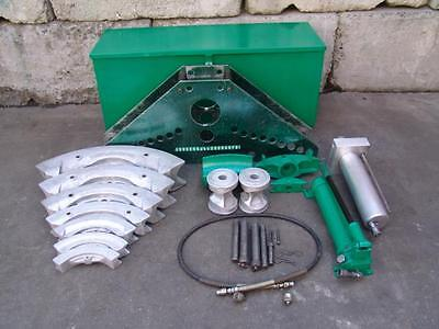 Greenlee 884 885 Bender 1 1/4 To 5 With Hand Pump  #3 Works Great