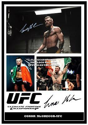 227.  CONOR McGREGOR  UFC  SIGNED   PHOTOGRAPH  GREAT GIFT