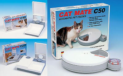 Automatic 24-hour Battery Operated Feeder For Small Dogs And Cats Fuss-cat Cat Supplies Dishes, Feeders & Fountains