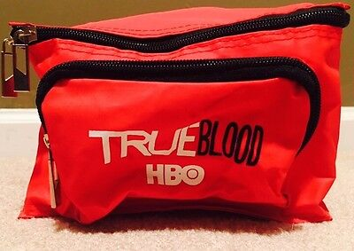 HBO Trueblood Lunch Box Vintage Thermal Food Carrier. Lunchbox Bag NWOT