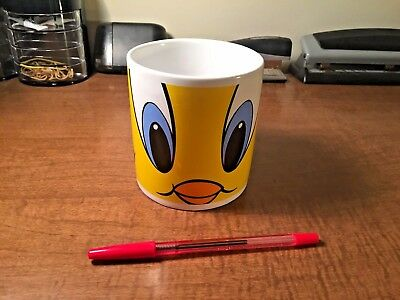 "1997 Coffee & Tea Mug Large Tweety ""Looney Toons"" Warner Bros. Studio Store"