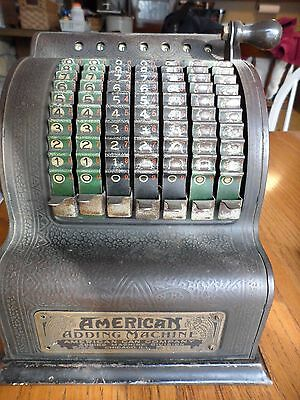 Antique Vintage American Can Co. Model 5 Adding Machine 1912 Patent