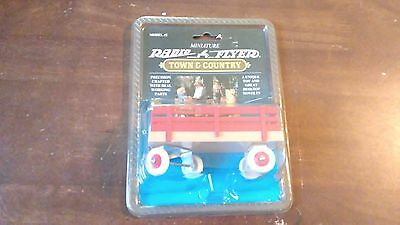 Radio Flyer Miniature Town & Country Wagon Model #2, New,1993