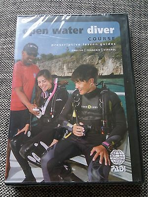 PADI Open Water DVD Prescriptive Lesson Guides New Unopened IDC Instructor
